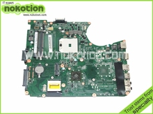 Laptop motherboard For Toshiba Satellite L755D Socket fs1 ddr3 A000081230 DA0BLFMB6E0 high quanlity tested