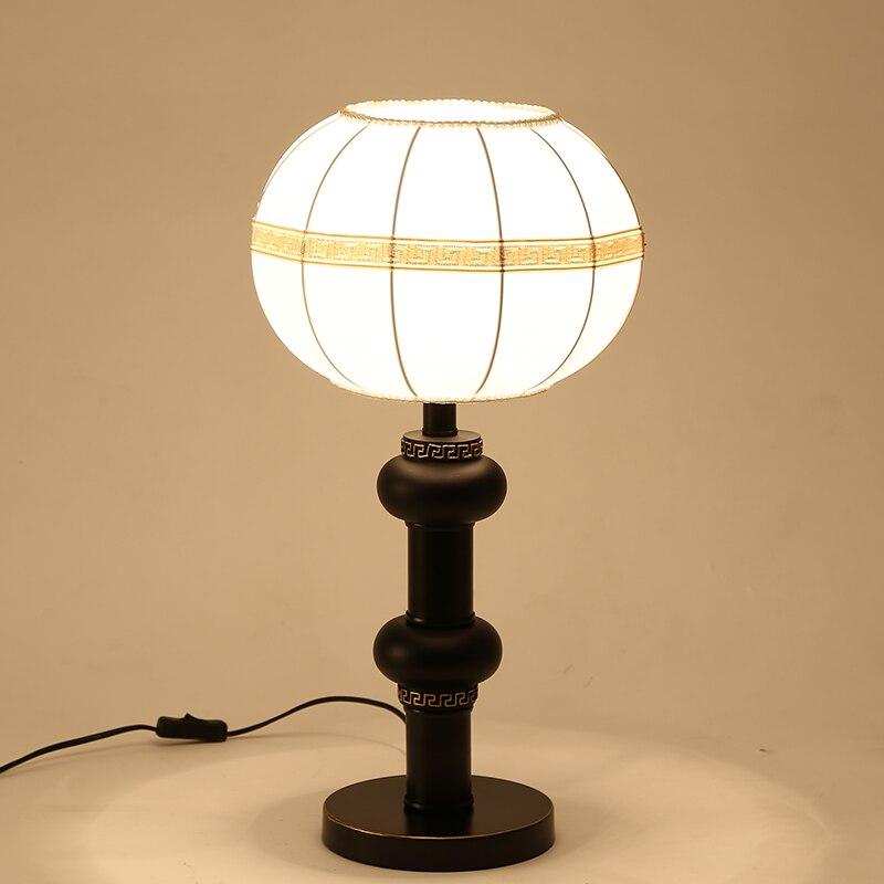 Китайский стиль настольная лампа исследование современной гостиной комната спальня торшер китайский теплой постели настольная лампа za81452
