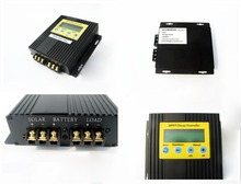 USA stock 20A MPPT solar charge controller solar regulator 15 30 more power 12V 24V free