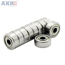 AXK  50pcs/lot 623zz bearing 3x10x4 Miniature deep groove for 3d printer Free shipping