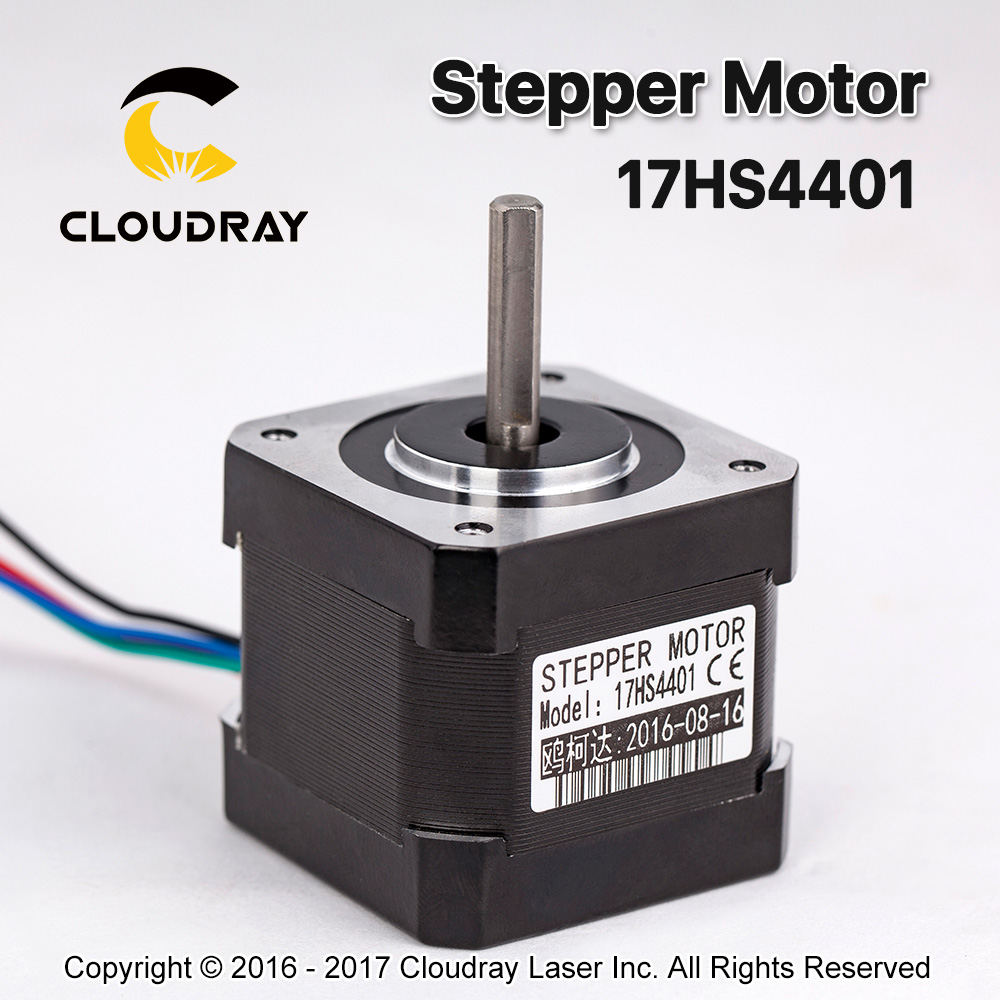 5 pcs 4-lead Nema17 Stepper Motor 42 Nema 17 42BYGH (17HS4401) 40mm 1.7A 3D printer motor and CNC XYZ