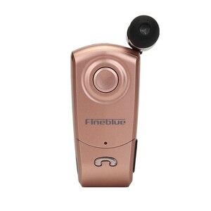 Image 4 - Fineblue Mini auricular F960, inalámbrico por Bluetooth, auriculares internos manos libres con micrófono, llamadas, recordatorios, vibración, controlador de Clip
