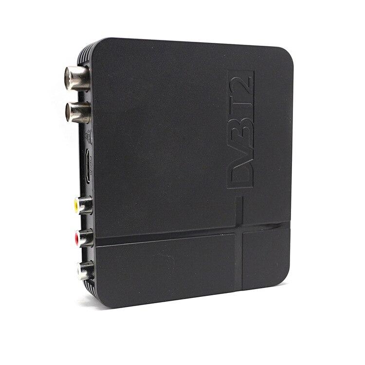 TV box DVB T2 Digital TV Terrestrischen Empfänger DVB-T2 MPEG-2/-4 H.264 Unterstützung HDMI Set Top Box Für europa/Russische/Columbia DVBK2
