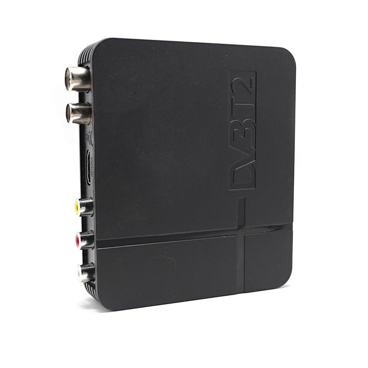 TV box DVB T2 receptor terrestre DVB-T2 MPEG-2/-4 H.264 HDMI Set Top Box para Europa/ asia Central/Columbia K2