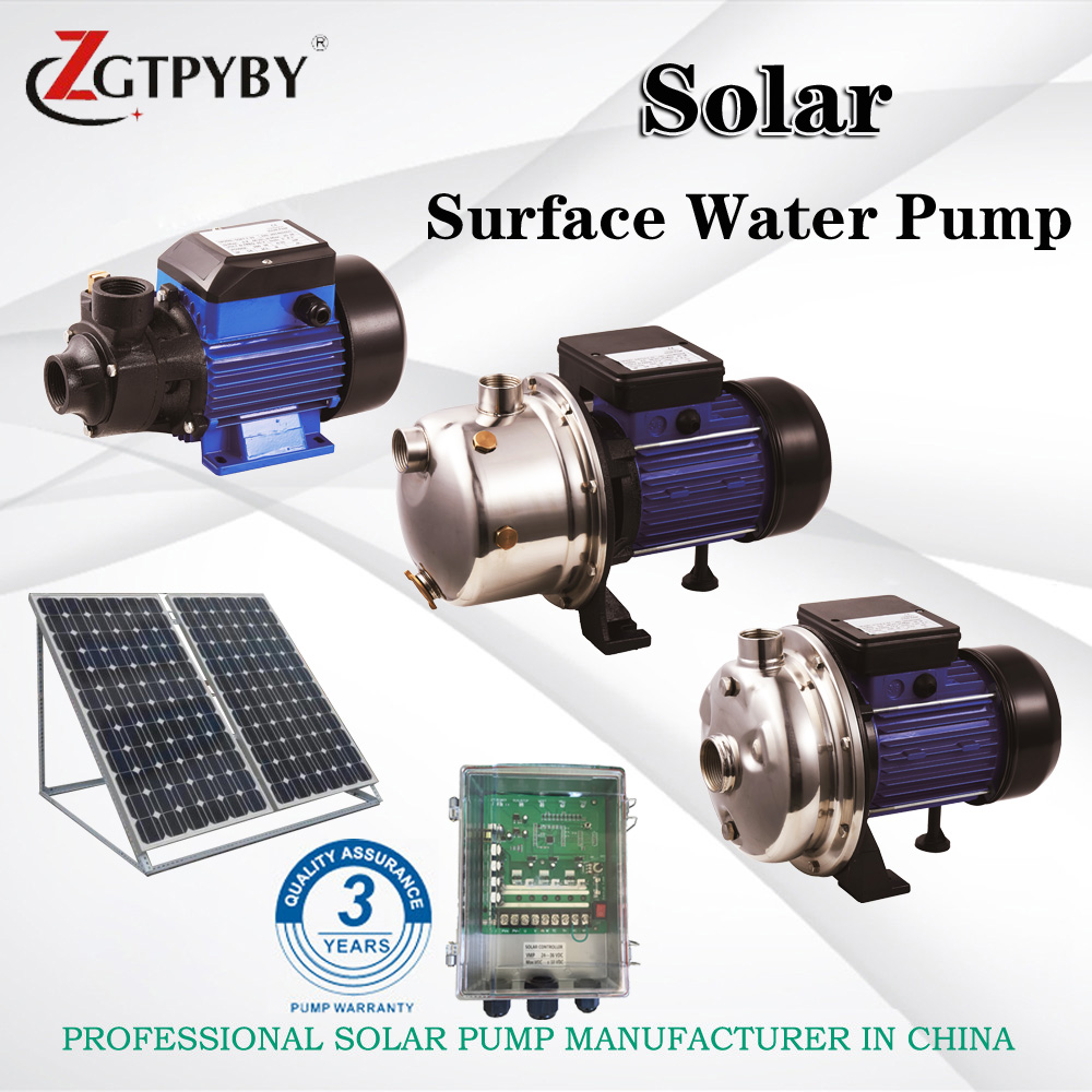 Surface Centrifugal Pump made in china solar water pump for agriculture 3 years guarantee solar wells pumps made in china solar pool pump kit