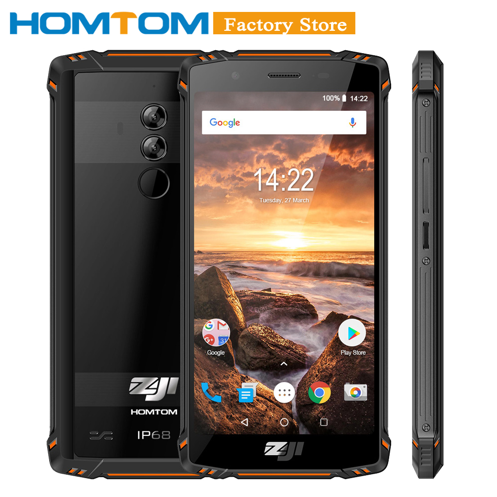 HOMTOM ZOJI Z9 6GB 64GB IP68 5500mAh Waterproof Mobile Phone Heart Rate Android 8 1 5
