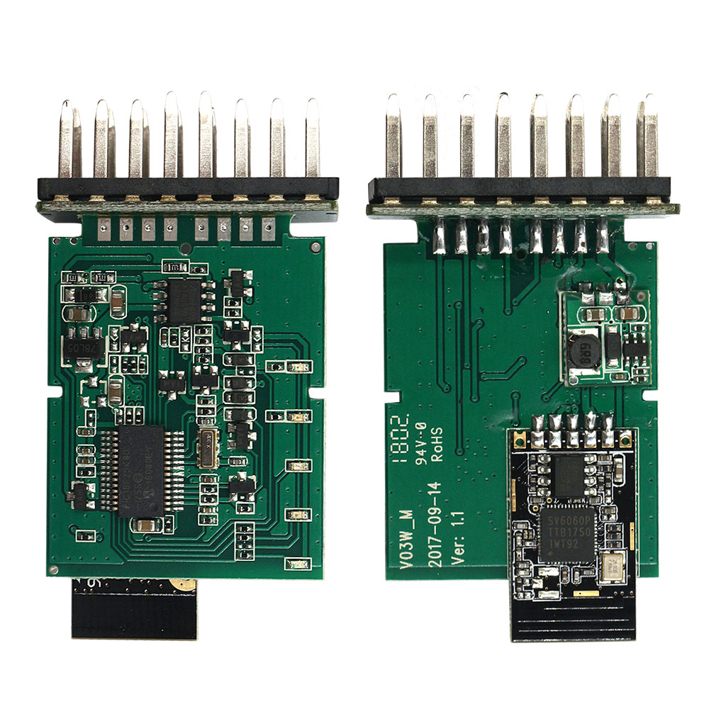 PIC18F25K80 ULME 327 OBD II WIFI Code Reader ELM327 V1.5 WI FI 25K80 Chip OBD2 Diagnose Scanner Für IOS Android windows Systeme