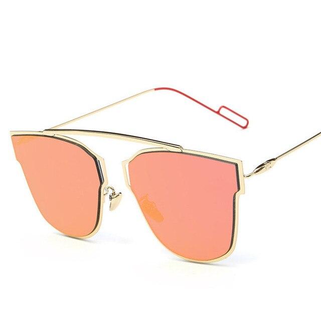 b39b13868e0e Lunette Papillon Cat Eye Color Lens Women Sunglasses Polarized Brand Design  Outdoor Goggle Sunglasses Oculos De Sol Feminino