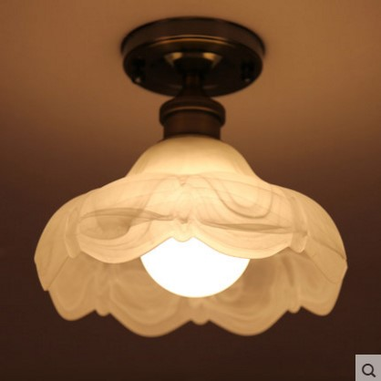 American Retro Edison Vintage Ceiling Lamp Light Fixtures For Living Room Bedroom Home Lighting,