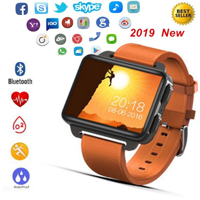 3G GPS Montre Smart Watch 2.2 Pouces Écran Sommeil Moniteur de Fréquence Cardiaque Podomètre Fitness Tracker Caméra Wifi Bluetooth Smartwatch Hombre