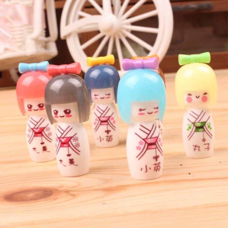 36 pcs lote japones boneca gel caneta 03