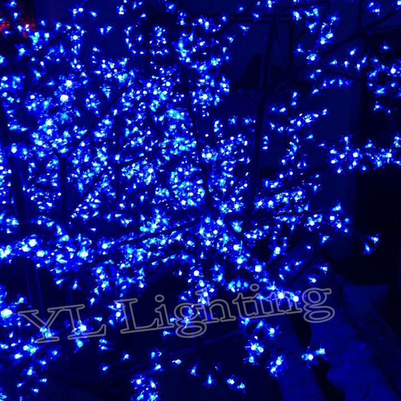 23meters 2400pcs artificial christmas trees with led lights outdoor tree decoration blue christmas lights europe in holiday lighting from lights lighting