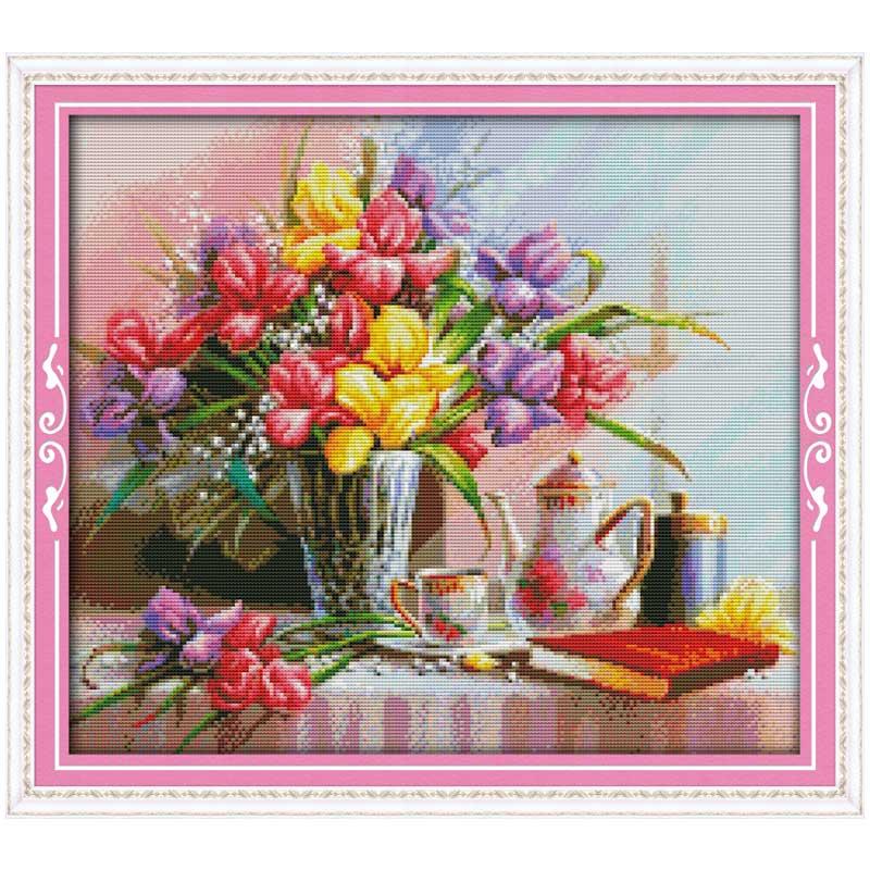 Самая красивая вышивка с цветами