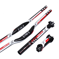 Eda Full Carbon Fiber Bend The Road Bicycle Handlebar Bend To One The Group Piece Handlebar