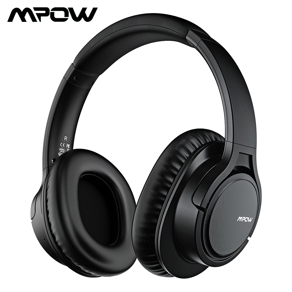 Original Mpow H7 Plus Bluetooth Headphone Wireless Earphones Aptx Headset With 13 Hours Playing Time For