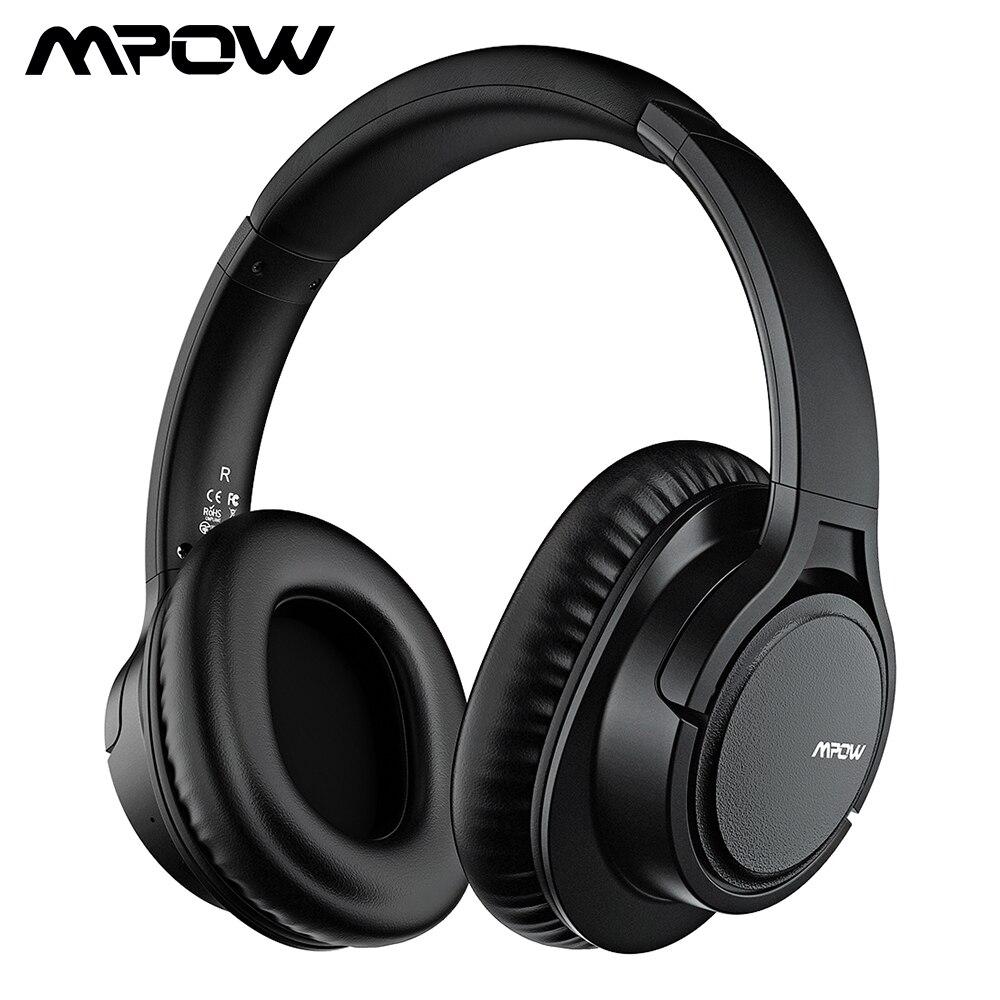 Original Mpow H7 Plus Bluetooth casque sans fil écouteurs Aptx casque avec 13 heures de temps de jeu pour iPhone X Xiaomi Huawei