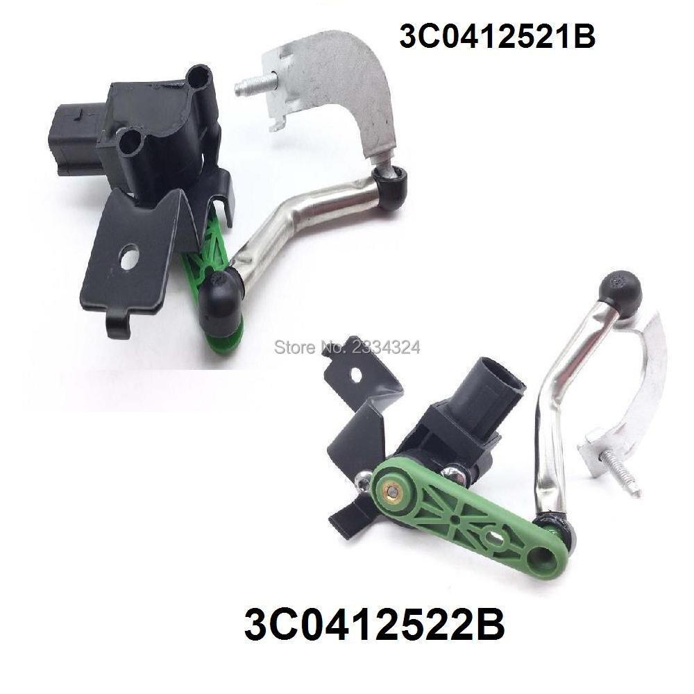 Level Sensor With Poles Left For AUDI Q3 VW CC Eos Passat 3C0412521B/3C0 412 521B/3C0412522B/3C0 412 522B-in Vehicle Height Sensor from Automobiles & Motorcycles    1