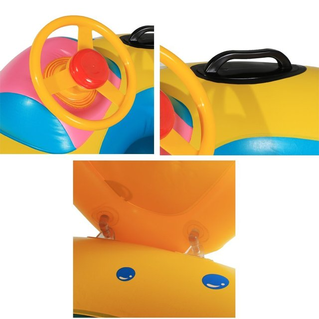Baby Swimming Rings with Sunshades