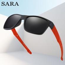 SARA Fashion Polarized Glasses Sunglasses Men For Travel Driving Square Women Sunglasses Goggles Male Sun Glasses Shades Lenses