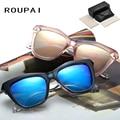 Fashion Polarized Sun Glasses Male Spectacles UV400 Mirror Lense Retro Fishing Alloy Men's Sunglasses
