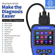 HUMZOR NexzCheck NC501 OBD2 / EOBD Scanner Car Code Reader OBDII Diagnostic Tool , Muli-language Read/Clear Codes for Engine