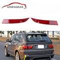 Стайлинга автомобилей Для BMW X5 Тормозные Хвост Светло-Красный Задний Объектив бампер Отражатель Фары Предупреждение Стоп Хвост Противотуманные Фары 2011 2012 2013 C/5