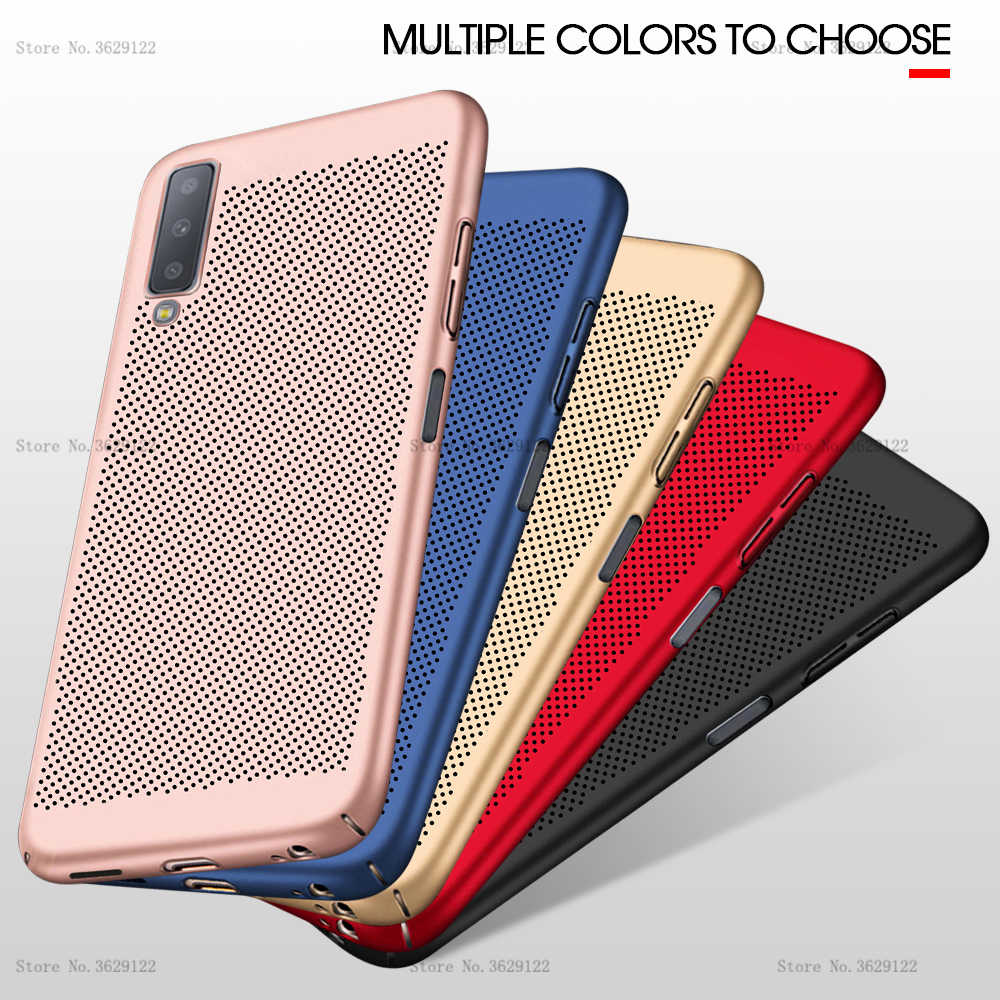 Ultra thin Protective Case For Samsung Galaxy J3 J5 J7 2017 J8 J4 J6 Plus 2018 J5 J7 Prime On7 On5 J2 Full Heat dissipation Case