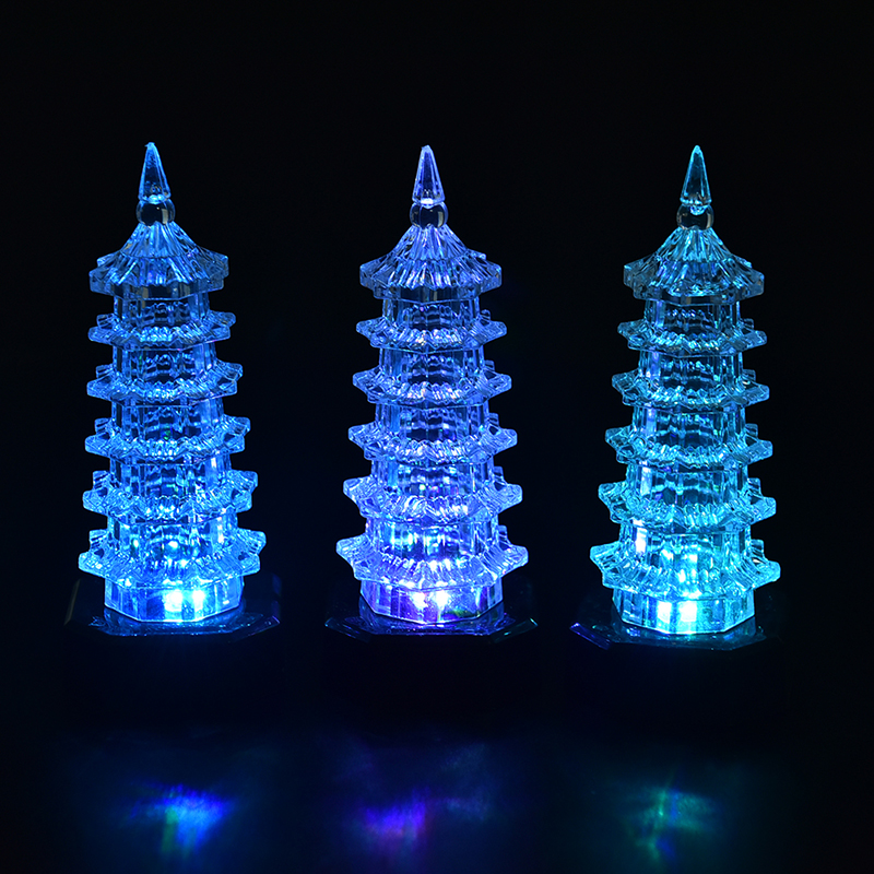 3 Sizes Eiffel Tower LED Night Light Romantic Christmas Lights Lamp ...