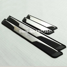 High quality stainless steel door sill Scuff Plate Welcome Pedal 4pcs For Renault Captur car Accessories