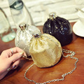 Hot Girls mini Toddler Metal Chain Buckle Handbag ladies Shoulder Bag bling party coin purse women Perfume bottle smalli bags