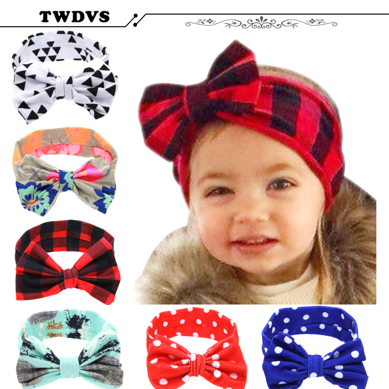 1PC Lovely Hair bands Headband Fashion Bunny Ear Girl Headwear Bow Elastic Knot Headbands Hair Accessories DT-44 недорго, оригинальная цена