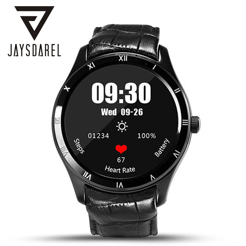 JAYSDAREL Android 5.1 Heart Rate Monitor Smart Watch Finow Q5 Call SIM Card GPS Tracker Pedometer Bluetooth Smartwatch Phone jaysdarel m26 bluetooth smart watch for android ios sync phone call pedometer anti lost wrist smartwatch pk gt08 dz09 gv18 u8