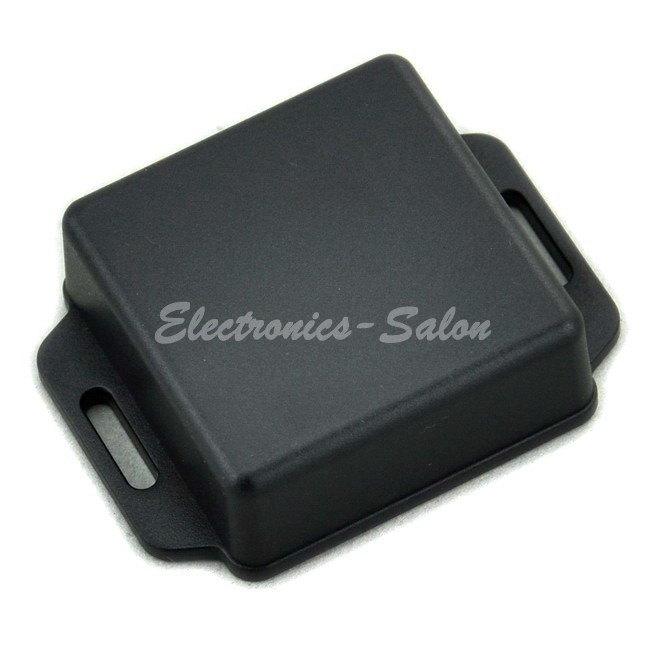 Small Wall-mounting Plastic Enclosure Box Case, Black,51x51x20mm, HIGH QUALITY.