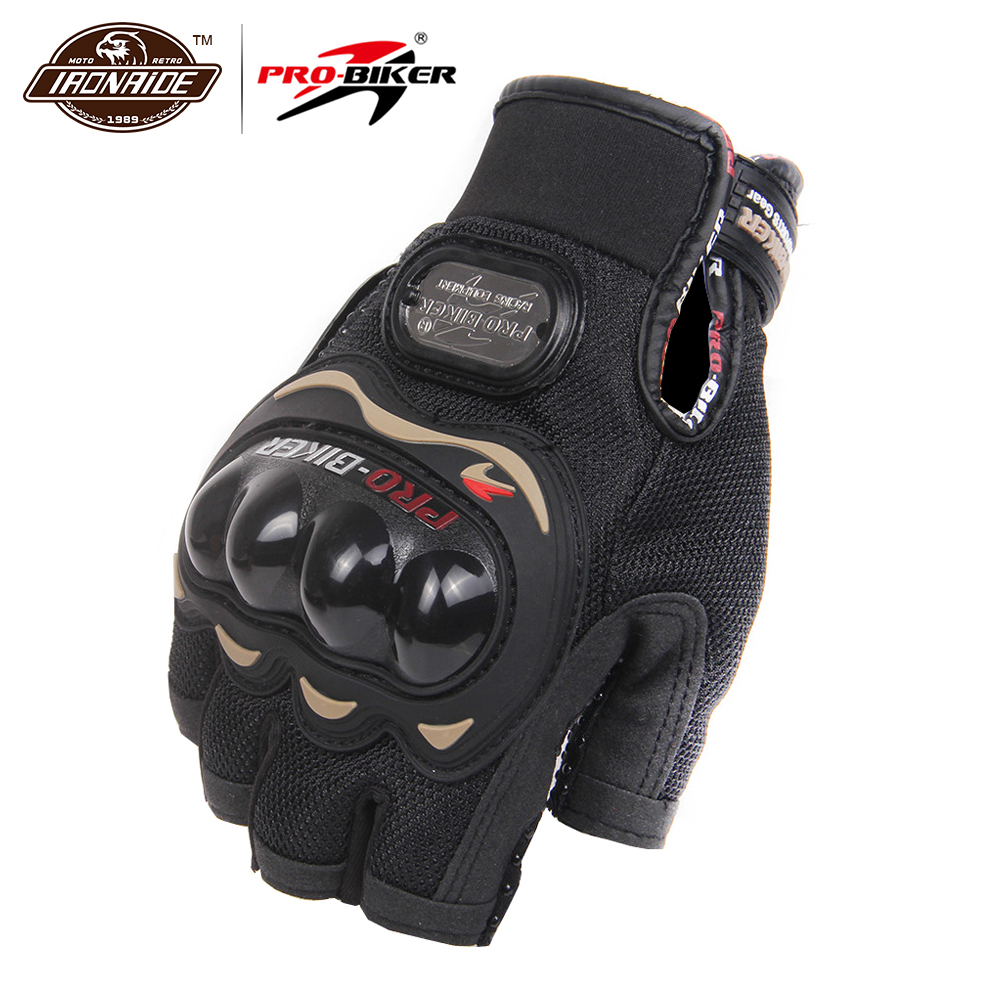 PRO-BIKER Motorcycle Gloves Motorbike Racing Half Finger Summer Moto Gloves Motorbike Riding Racing Bike Protective Gloves M-XXLPRO-BIKER Motorcycle Gloves Motorbike Racing Half Finger Summer Moto Gloves Motorbike Riding Racing Bike Protective Gloves M-XXL