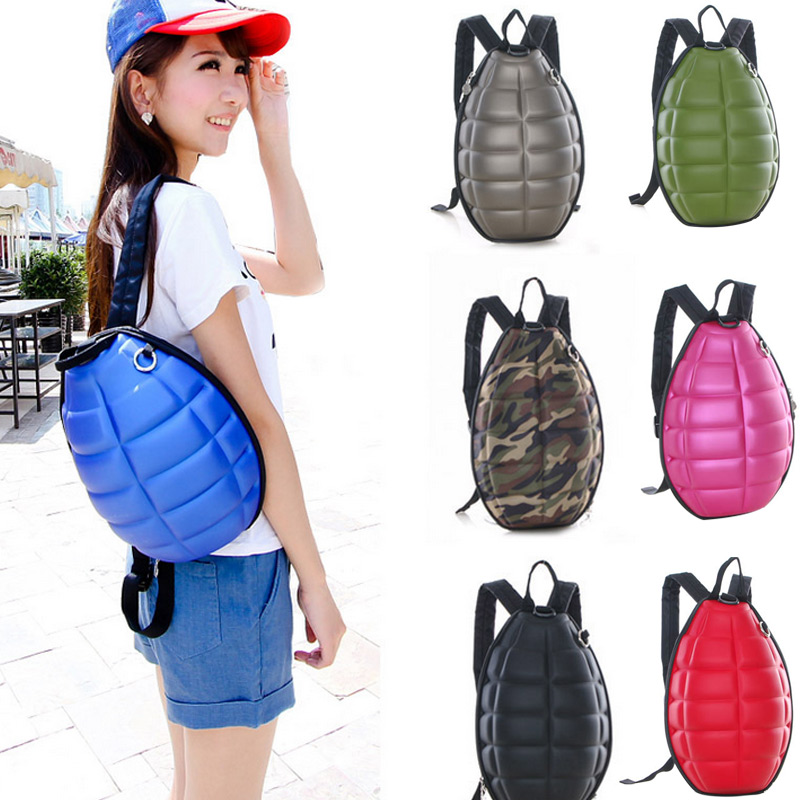 Fashion Turtle Shell Backpack Shoulder Bag Cool School Bag Men Women Laptop Backpack for Teenage Girls Boys Popu LBY2017 cool urban backpack for teenagers kids boys girls school bags men women fashion travel bag laptop backpack
