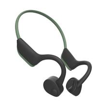 Newest Bluetooth 5.0 Bone Conduction Headphones Hearing Recovery Wireless Earphone IP55 Waterproof Headset For Outdoor Sports e9 newest wireless bone conduction headphones bluetooth 5 0 binaural stereo bone headset waterproof sports bluetooth earphone