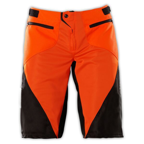Men Off-Road DH MTB MX Downhill Shorts Motocross Racing Bicycle SPRINT MTB DOWNHILL DH SHORTS BLACK/ORANGE ACE bicycle short