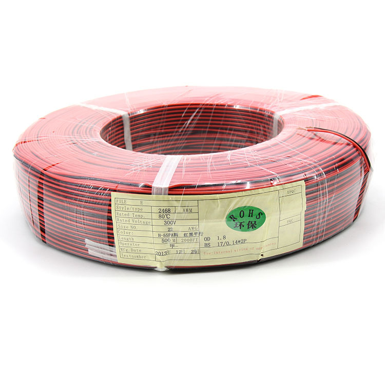 2 Core 22awg Speaker Wire Copper Internal Speaker Cable