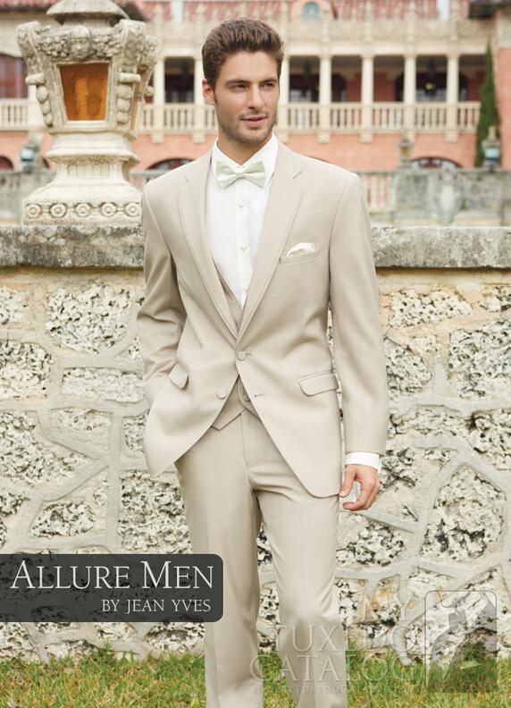 2017 New Arrival Groom Tuxedo Best Man Groomsman Suit Men Destination Wedding Suits Formal Jacket Pants Vest Bow