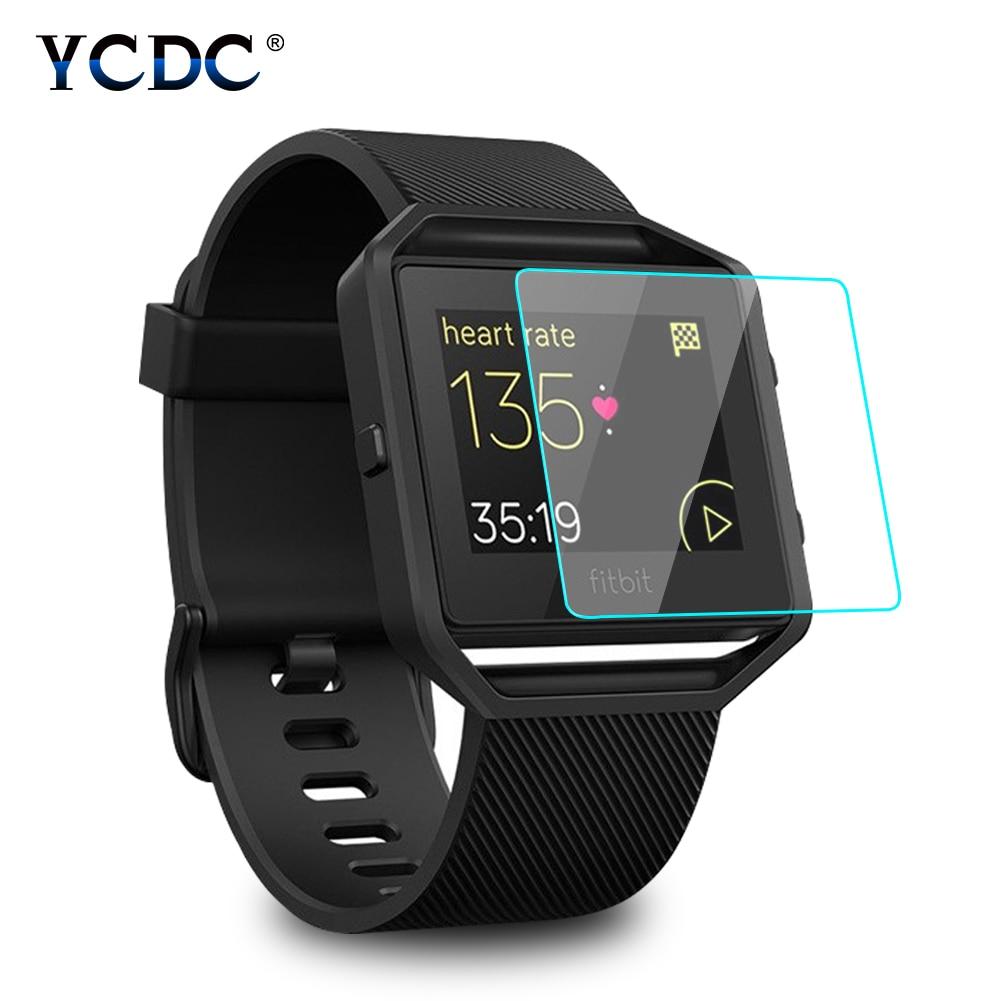 2.5D HD Protective Smartwatch Screen Film For Fitbit Blaze Smart Watch Anti fingerprint Thin