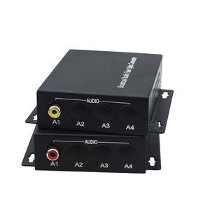 Image 5 - Audio optical fiber transmitter 1 Channel Audio RCA to Fiber Optic Converter FC SM 20km