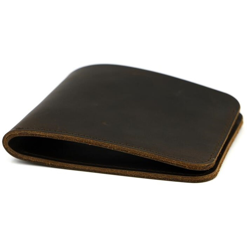 Men Genuine Leather Wallet Solid Short Slim Male Card Holder Coin Purse Mens Business Wallet Billetera Hombre Carteira Masculina