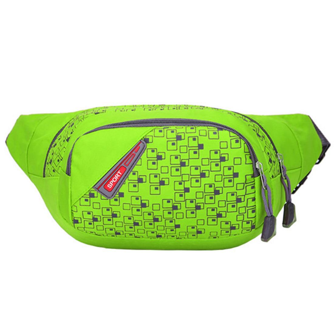 Prix pour 115 CM Warterproof Nylon Camping Sac de Taille En Plein Air Sac de Sport pour Femmes Hommes Taille Packs Messenger