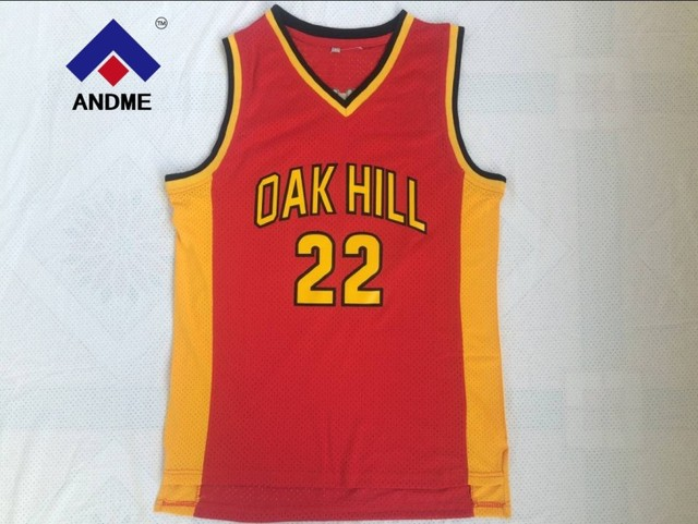 b06ca0dcc0f ... france vintage carmelo anthony 22 oak hill high school basketball jersey  red yellow ae327 85eea