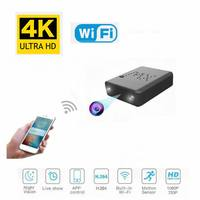 Wireless WiFi 4K Ultra HD 1080P Mini IP Camera Wide Angle Hidden Webcam Motion Detection with Night Vision