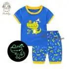 Shuji/Детские пижамы; коллекция 2019 года; летняя одежда для сна для мальчиков и девочек; детская одежда для сна; подарок для детей; красивый пижа...
