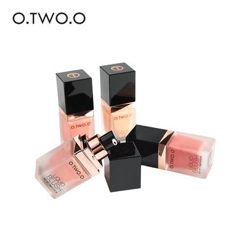 O.TWO.O New Liquid Blush Makeup Cheek Silky Pink Color Blusher Natural Long Lasting Face Contour Make Up Professional Blush Multan