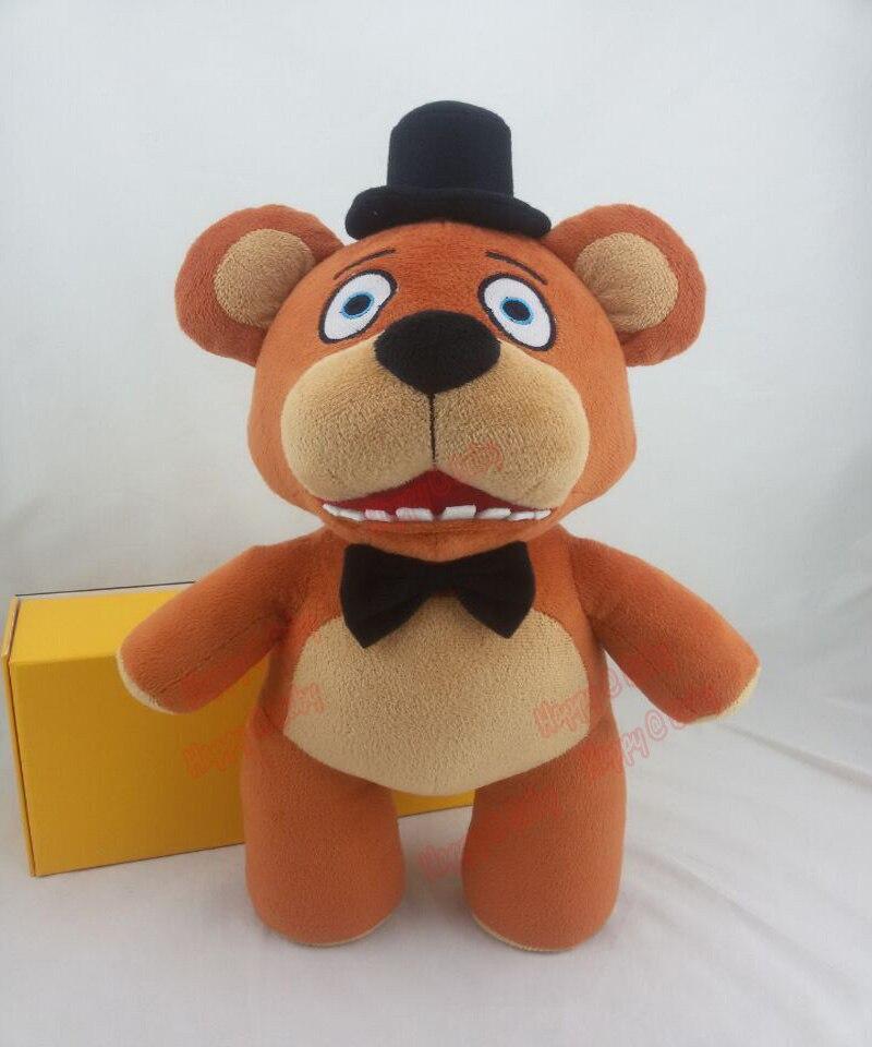 Лидер продаж! Пятно официальный Five nights at Freddys 4 FNAF Freddy Fazbear Медведь Плюшевые Игрушечные лошадки куклы 14 36 см дети рождественские подарки