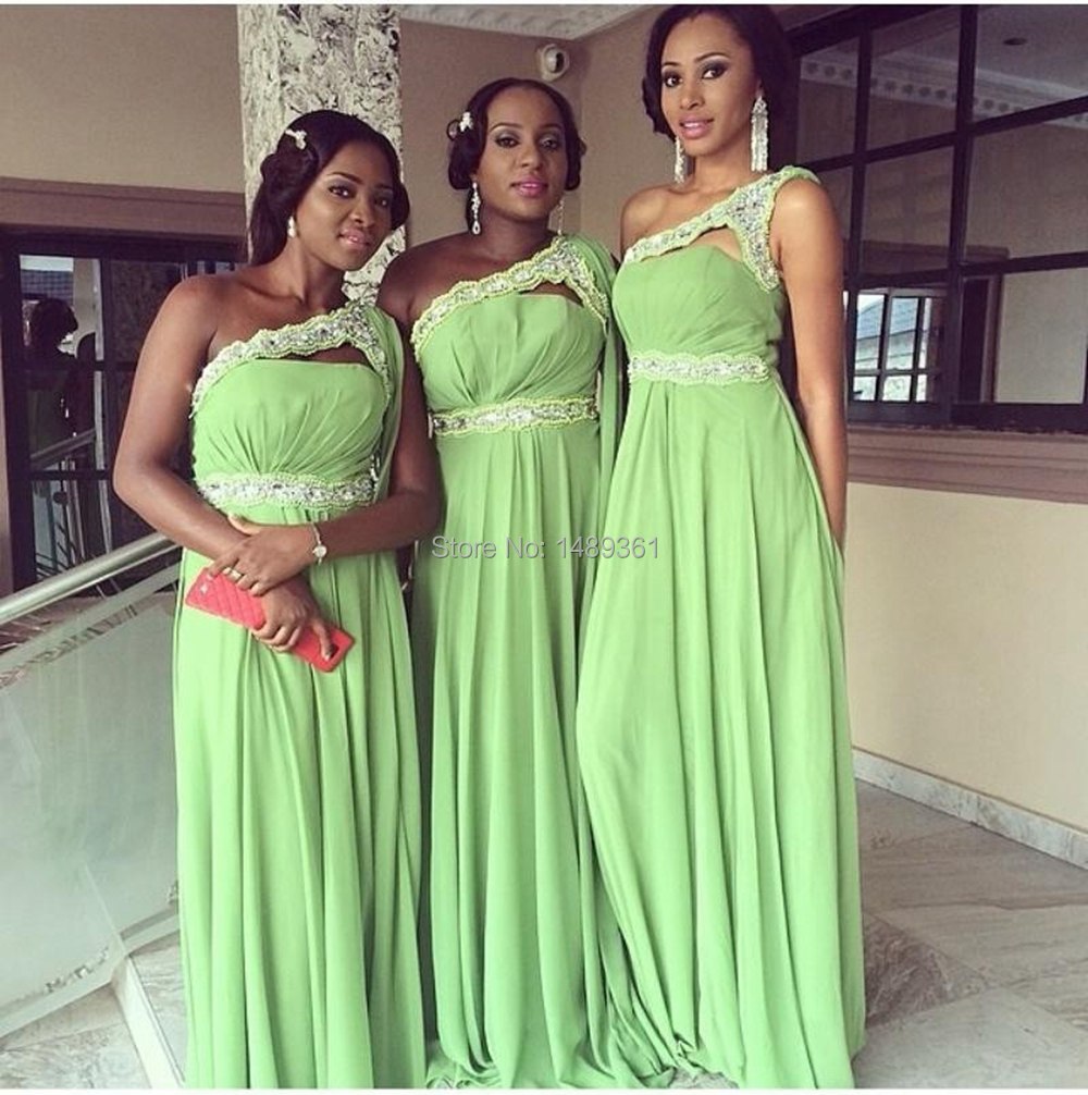 Online buy wholesale mint green d dress from china mint green d 2016 one shoulder bridesmaid dresses floor length a line sleeveless sash beading chiffon mint green dresses ombrellifo Images