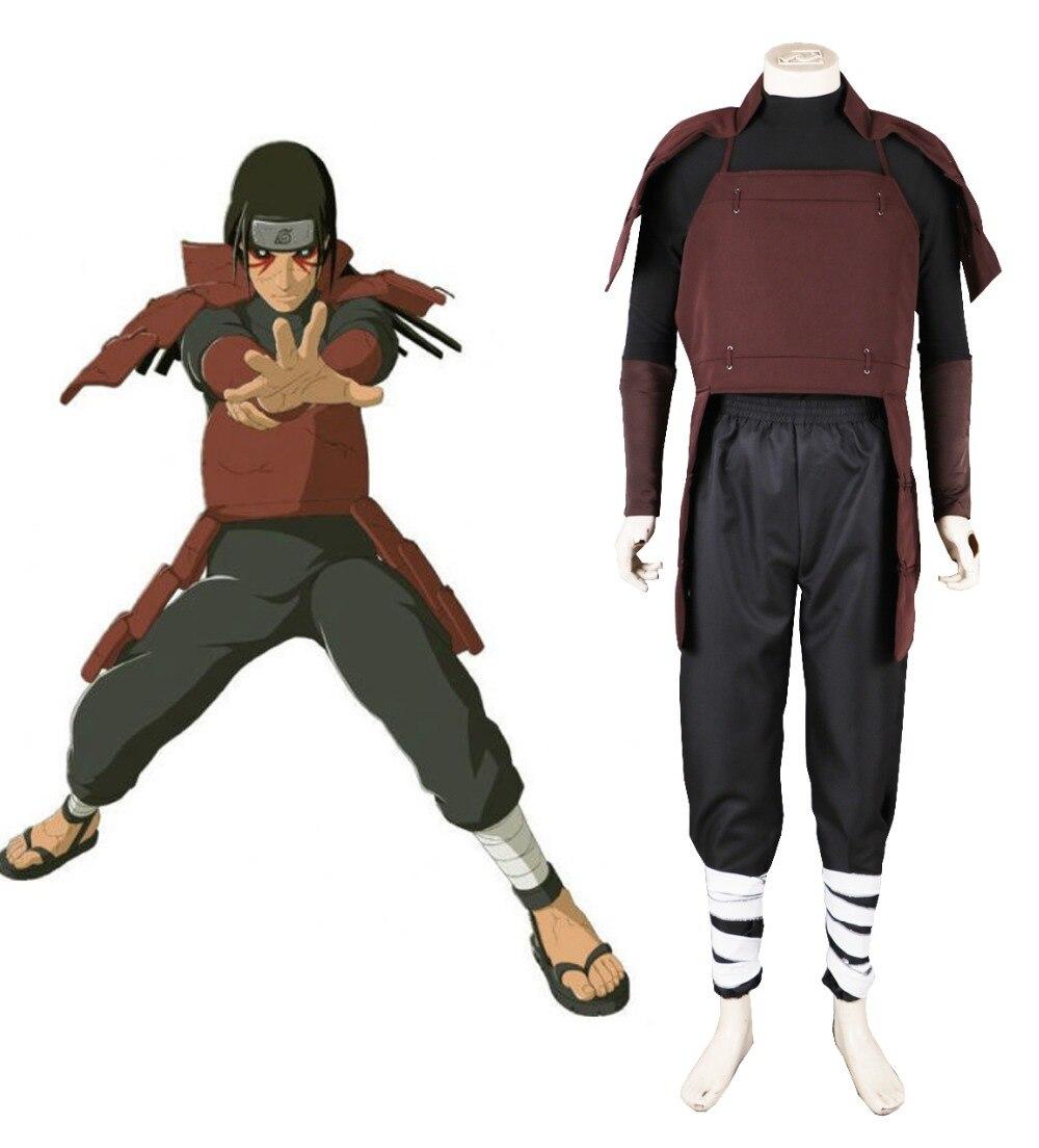 Free Shipping font b Naruto b font Shippuden Fist Hokage Senju Hashirama Fighting Uniform Anime font
